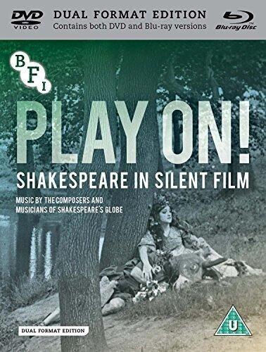 Play On! - Shakespeare In Silent Film (DualDisc, s/w, Blu-ray + DVD)