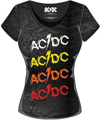 AC/DC - Powerage Repeat with Acid Wash Finish