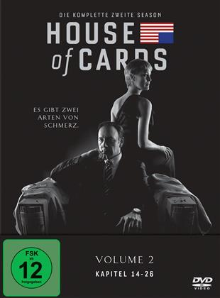 House of Cards - Staffel 2 (Neuauflage, 4 DVDs)