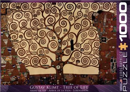 Gustav Klimt - Tree of Life - Puzzle