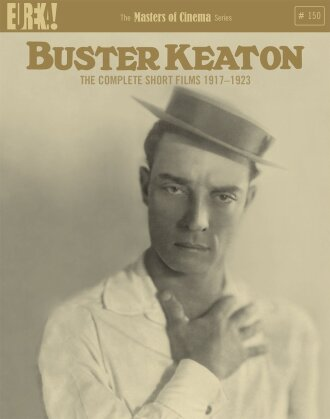 Buster Keaton - The Complete Short Films 1917 - 1923 (Eureka!, Masters of Cinema, s/w, 4 Blu-rays)