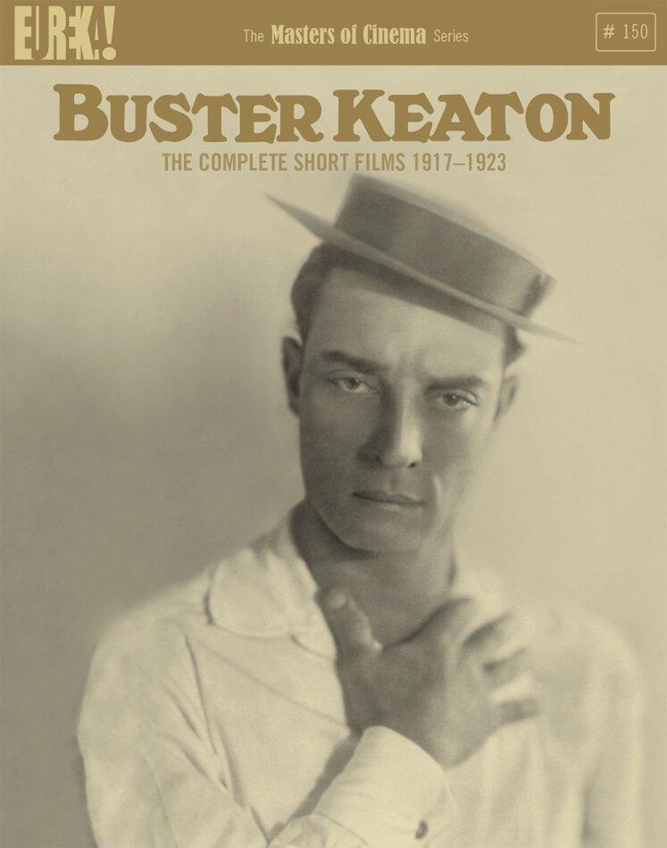 Buster Keaton - The Complete Short Films 1917 - 1923 (Eureka!, Masters of Cinema, n/b, 4 Blu-ray)