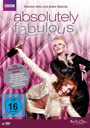 Absolutely Fabulous - Die komplette Serie (10 DVDs)