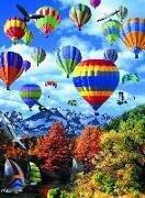Puzzle 500 Teile mit 3D-Effekt. Heißluftballon