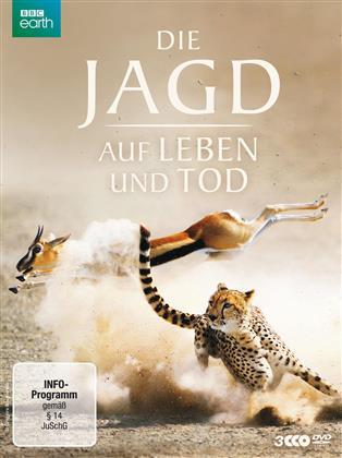 Die Jagd - Auf Leben und Tod (2015) (BBC Earth, Uncut, 3 DVDs)