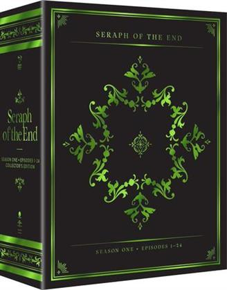 Seraph of the End: Vampire Reign - Season 1 (Collector's Edition, 4 Blu-rays + 4 DVDs)