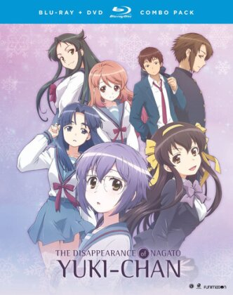 The Disappearance of Nagato Yuki-Chan - The Complete Series (2 Blu-rays + 2 DVDs)