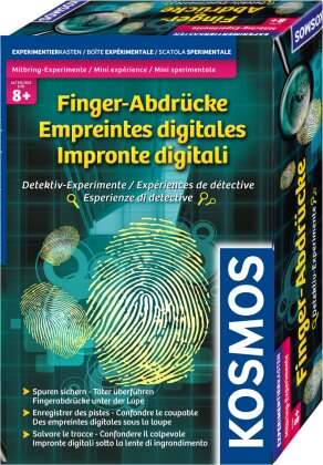 Mitbring-Experimente - Finger-Abdrücke