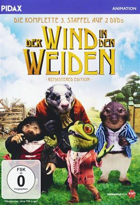 Der Wind in den Weiden - Staffel 3 (Pidax Animation, Remastered, 2 DVDs)