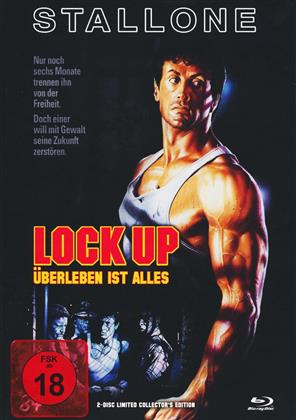Lock Up (1989) (Cover B, Limited Collector's Edition, Mediabook, Blu-ray + DVD)