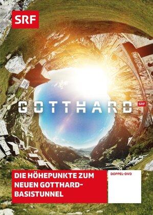 Gotthard - Die Höhepunkte zum neuen Gotthard-Basistunnel - SRF Dokumentation (2 DVDs)