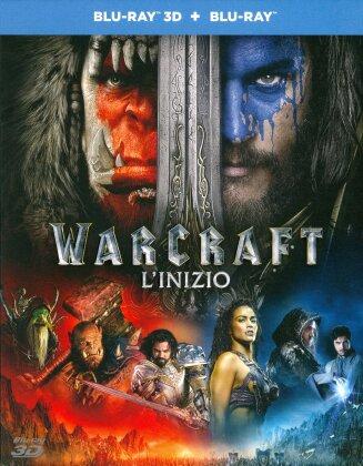 Warcraft - L'inizio (2016) (Blu-ray 3D + Blu-ray)