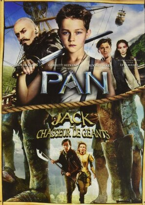 Pan (2015) / Jack et le chasseur de géants (2013) (2 DVDs)