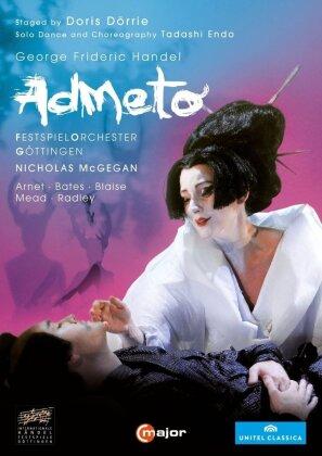 Festspielorchester Göttingen, Nicholas McGegan, … - Händel - Admeto, Re di Tessaglia (C Major, Unitel Classica, 2 DVD)