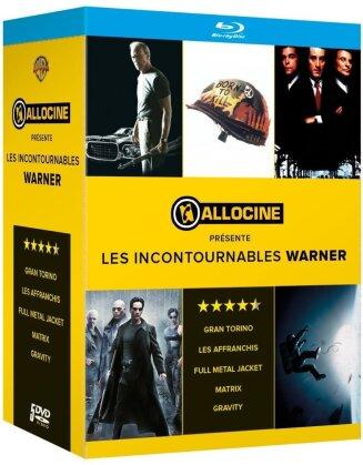 Allociné présente les Incontournables Warner - Full Metal Jacket / Gravity / Gran Torino / Les affranchis / Matrix (5 Blu-rays)