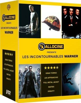 Allociné présente les Incontournables Warner - Full Metal Jacket / Gravity / Gran Torino / Les affranchis / Matrix (5 DVDs)