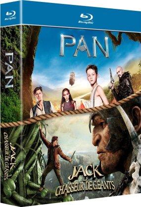 Pan / Jack et le chasseur de géants (2 Blu-rays)