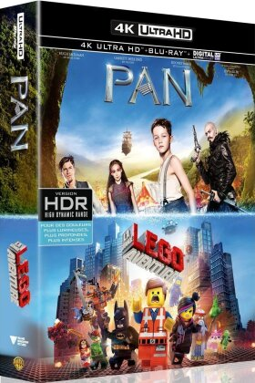Pan / La grande aventure Lego (2 4K Ultra HDs + 2 Blu-rays)