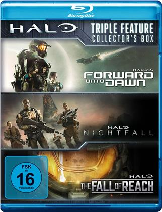 Halo Triple Feature - Collector's Box (3 Blu-rays)