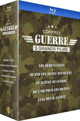 Coffret Guerre - 5 Grands Films (2016) (5 Blu-ray)