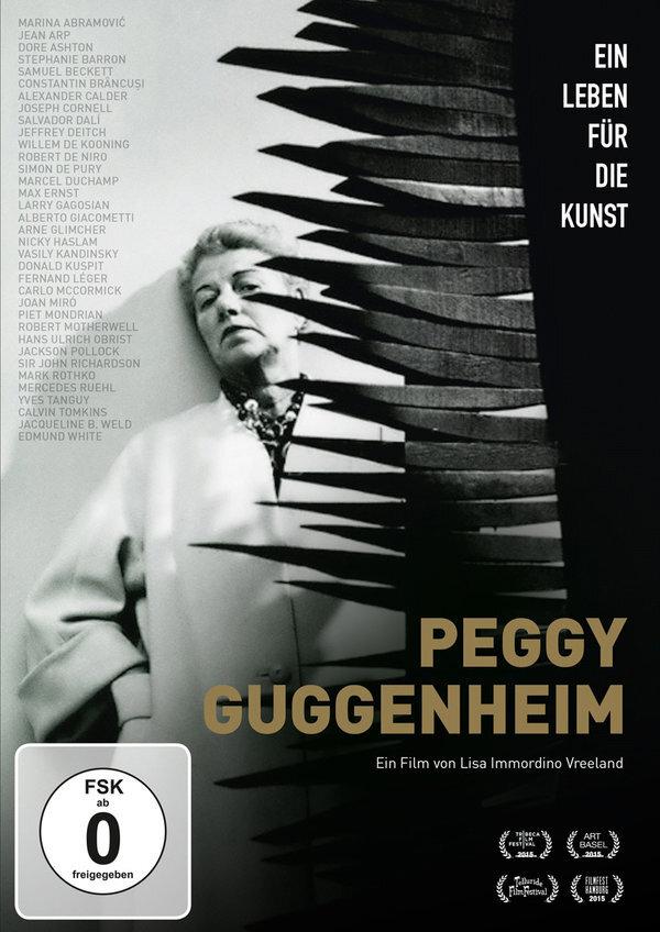 Peggy Guggenheim - Ein Leben für die Kunst (2015) (s/w)