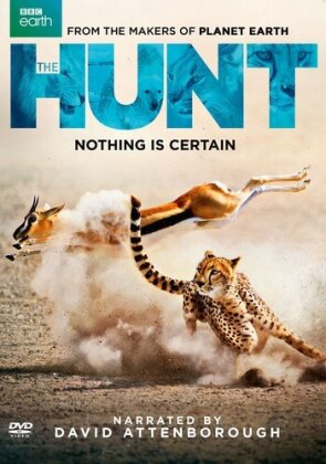Hunt (2015) (BBC Earth, 3 DVDs)
