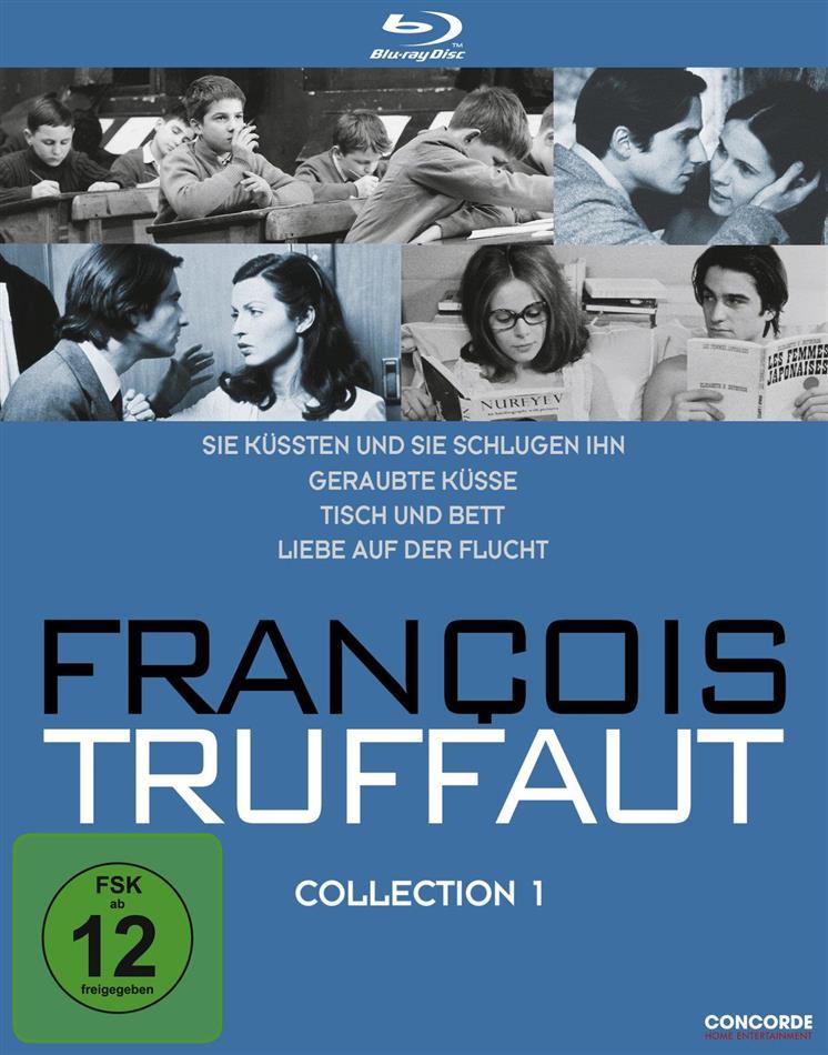 François Truffaut - Collection 1 (4 Blu-rays)