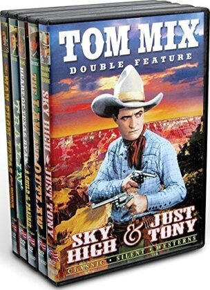Tom Mix Silents Collection (s/w, 5 DVDs)