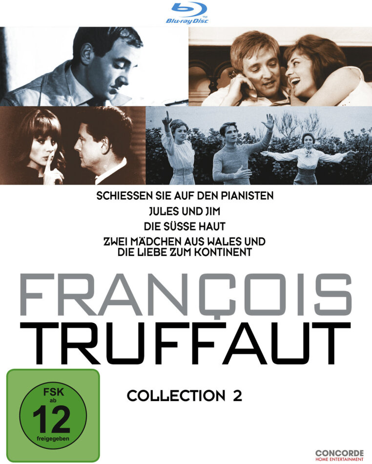 François Truffaut - Collection 2 (4 Blu-rays)