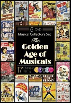 The Golden Age of Musicals - Musical Collector's Set (5 DVDs)