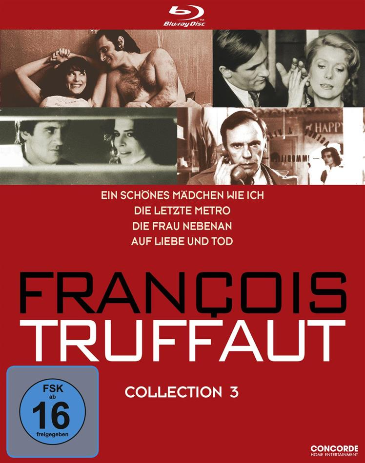 François Truffaut - Collection 3 (4 Blu-rays)