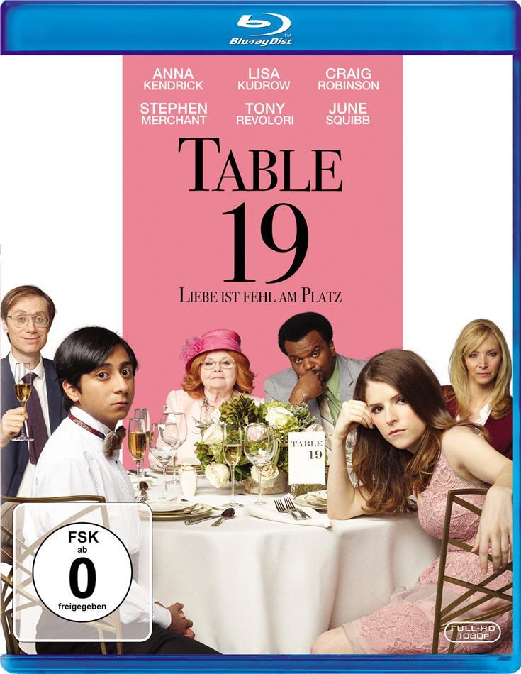 Table 19 - Liebe ist fehl am Platz (2017)