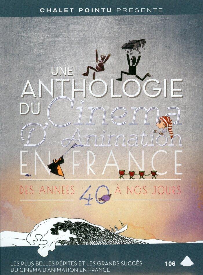 Une anthologie du cinéma d'animation en France - Des années 40 à nos jour (1940) (s/w, 2 DVDs)