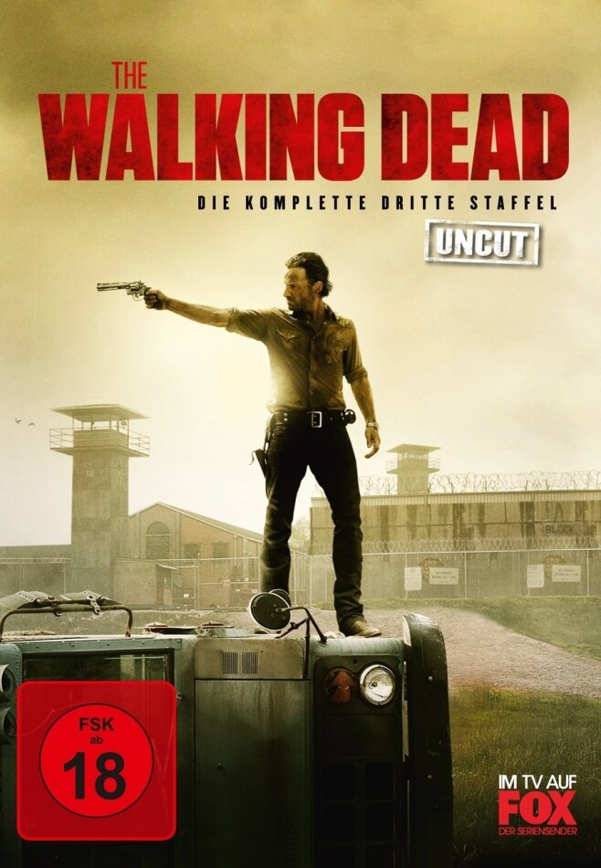 The Walking Dead - Staffel 3 (Limited Edition, Uncut, 5 DVDs)
