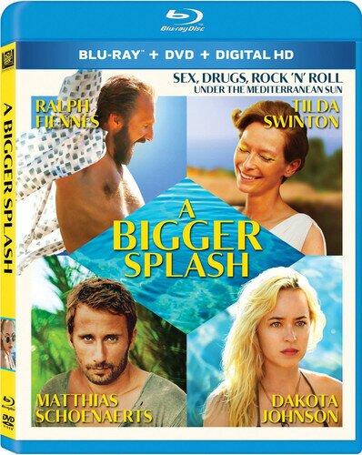 A Bigger Splash - Bigger Splash (2PC) / (2Pk Ws) (2015) (Blu-ray + DVD)