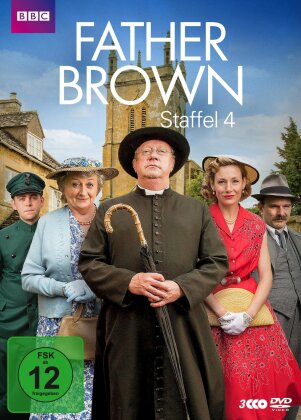 Father Brown - Staffel 4 (3 DVDs)