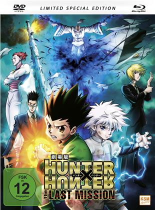 Hunter x Hunter - The last Mission (2013) (Limited Special Edition, Mediabook, Blu-ray + DVD)