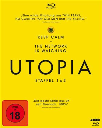 Utopia - Staffel 1 & 2 (4 Blu-rays)