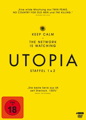 Utopia - Staffel 1 & 2 (4 DVDs)