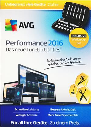 AVG Performance 2016 Sommer Edition (TuneUp) [unbeg. Liz.] [PC/Mac/Android]