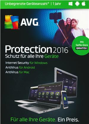 AVG Protection 2016 Sommer Edition [unbegrenzte Lizenzen] [PC/Mac/Android]