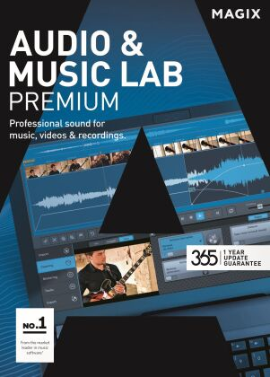 MAGIX Audio & Music Lab Premium 365