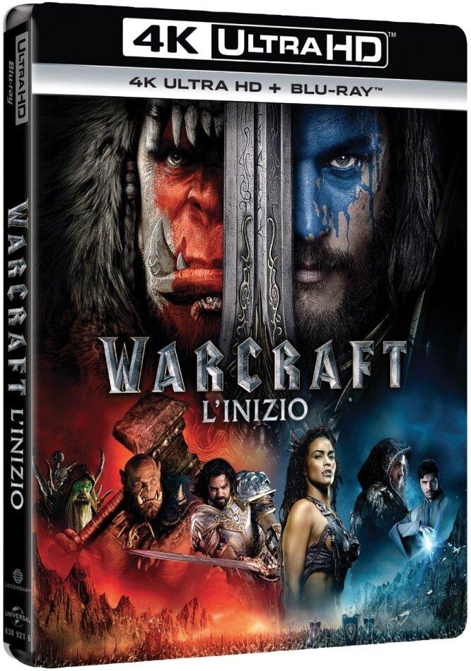 Warcraft - L'inizio (2016) (4K Ultra HD + Blu-ray)