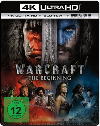 Warcraft - The Beginning (2016) (4K Ultra HD + Blu-ray)