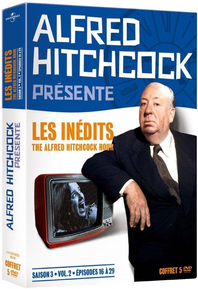 Alfred Hitchcock présente - Les inédits - The Alfred Hitchcock Hour - Saison 3, vol. 2 (s/w, 5 DVDs)