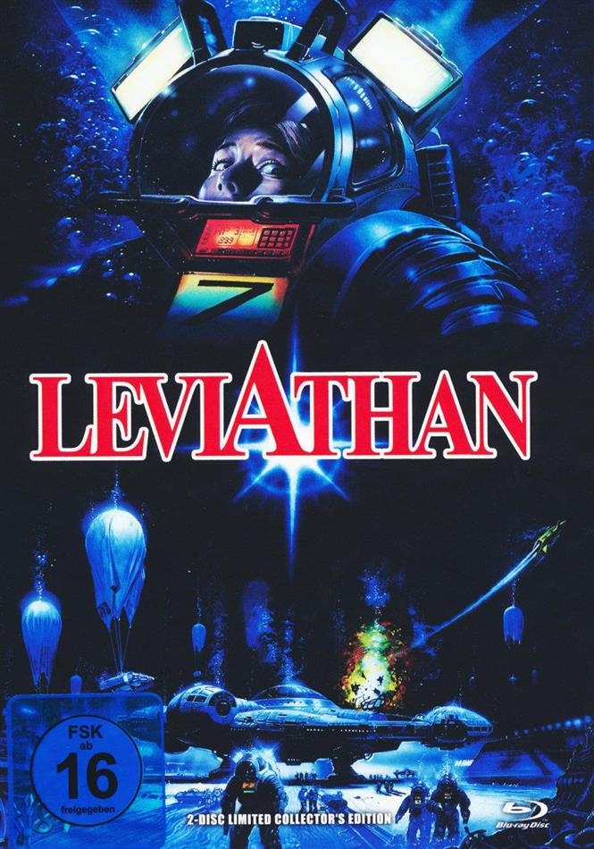 Leviathan (1989) (Cover A, Limited Collector's Edition, Mediabook, Blu-ray + DVD)