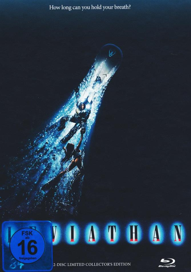 Leviathan (1989) (Cover B, Limited Collector's Edition, Mediabook, Blu-ray + DVD)