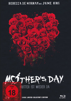 Mother's Day - Mutter ist wieder da (2010) (Cover B, Limited Collector's Edition, Mediabook, Blu-ray + DVD)