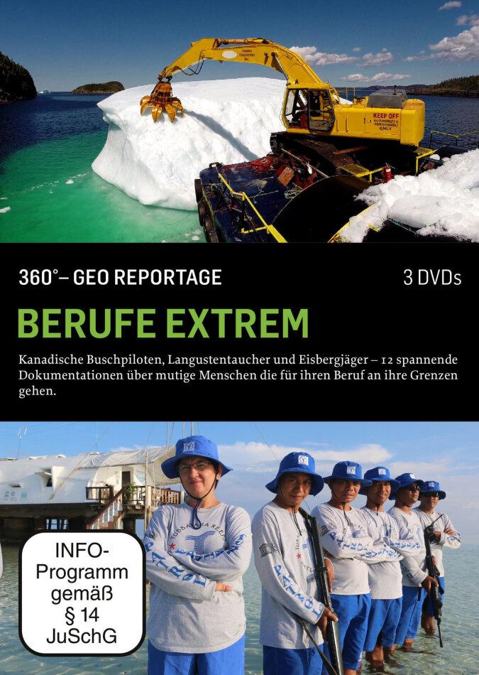 Berufe extrem - 360° - GEO Reportage (Arthaus, 3 DVD)