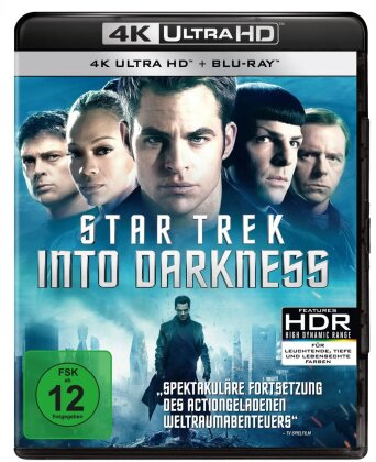 Star Trek 12 - Into Darkness (2013) (4K Ultra HD + Blu-ray)